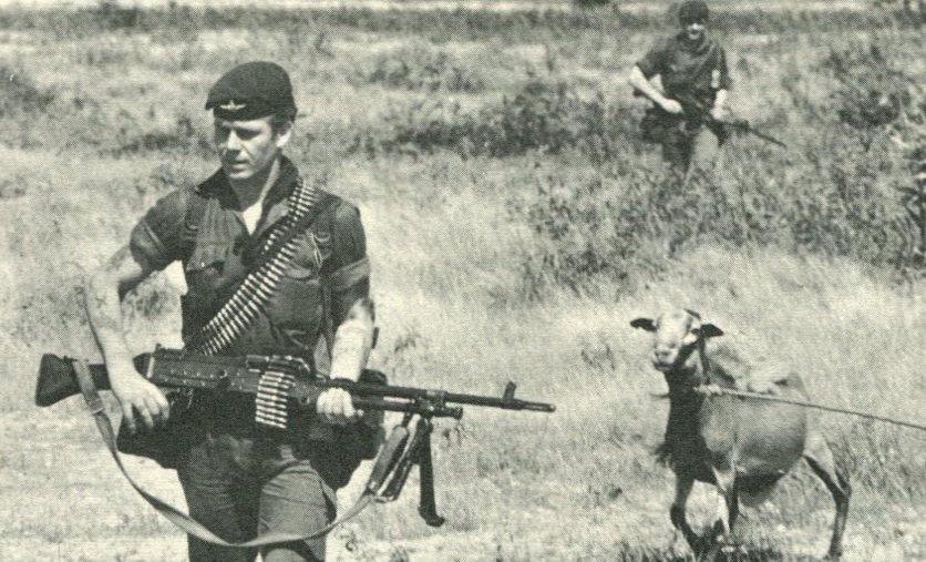 Goat patrol