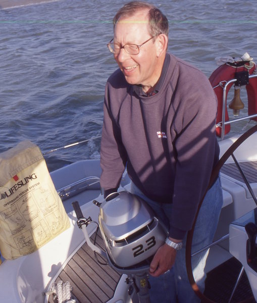 Drowned outboard