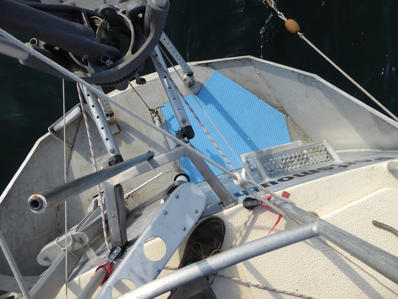 Transom treatment
