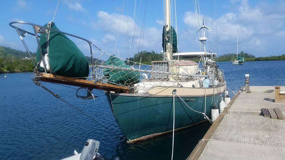 Galena at dock