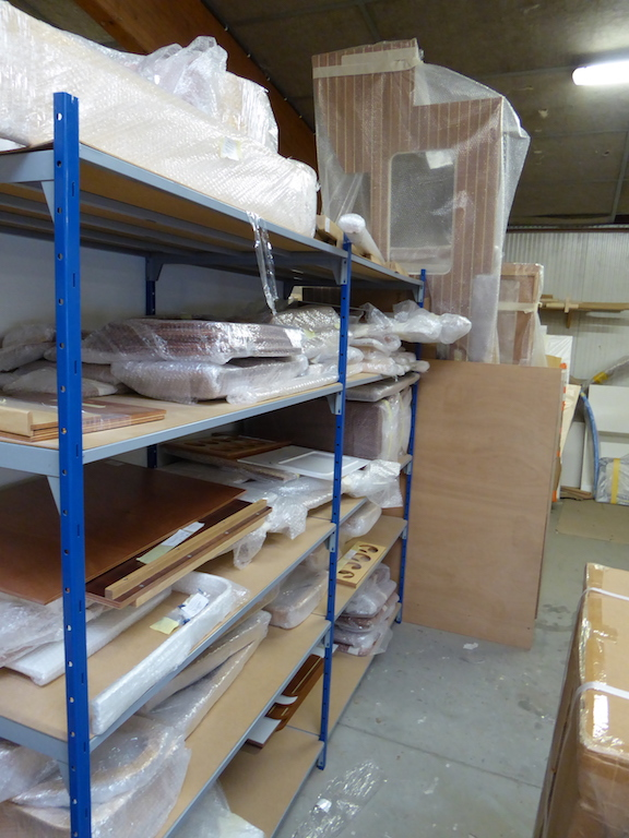 Joinery stored