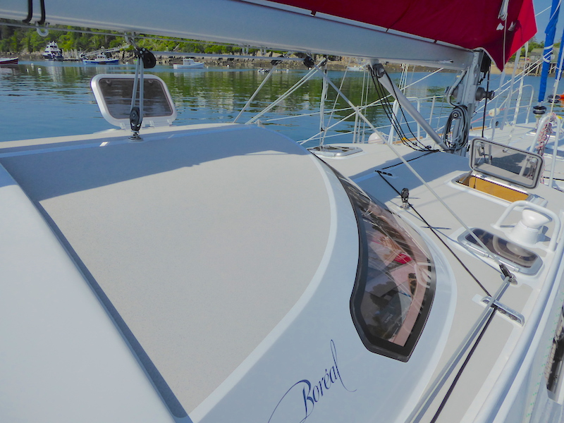 New mainsheet run