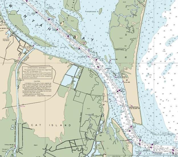 Winyah Bay chart