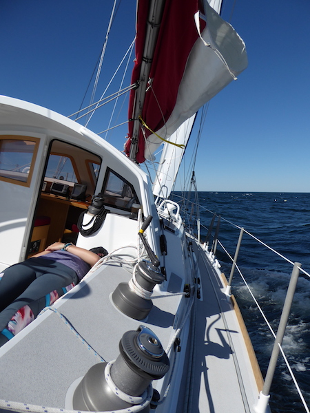 Sailing in 30