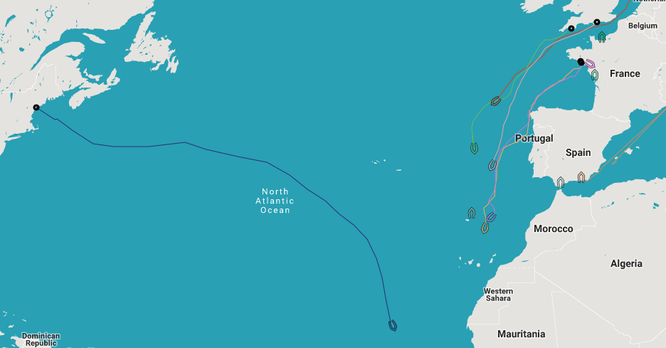 Longue Route tracker