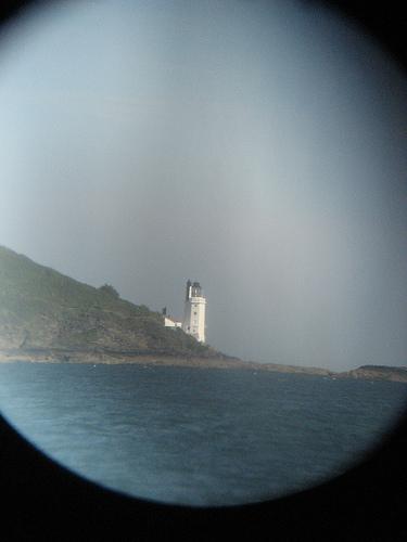 Eyeball navigation with binoculars