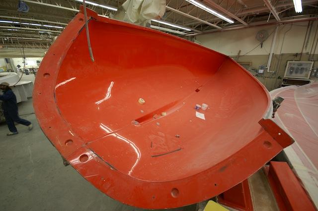Female sailboat mold
