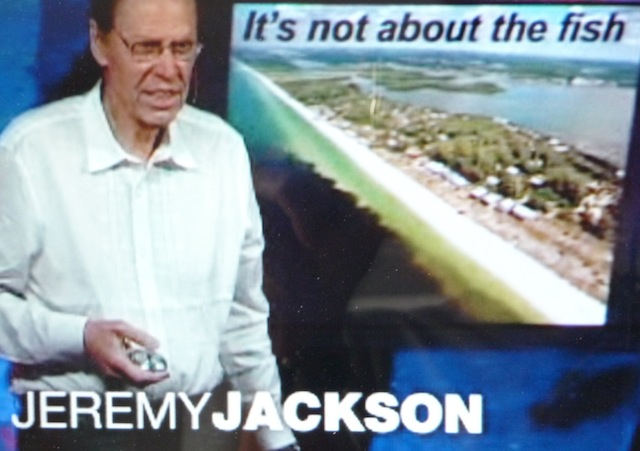Coral reef ecologist Jeremy Jackson