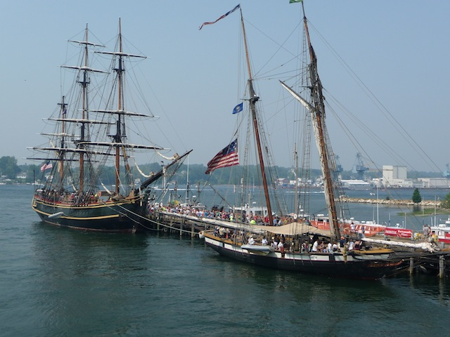 HMS Bounty and Privateer Lynx at Portsmouth, NH