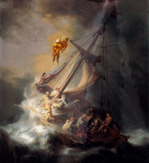 Rembrandt rescue painting