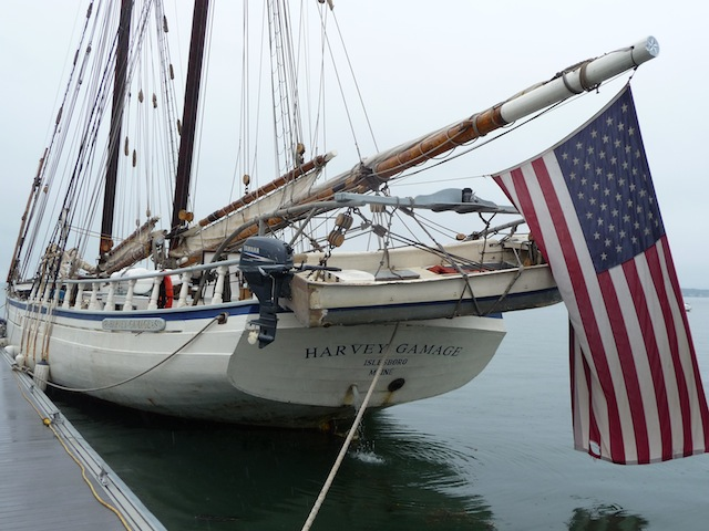 Schooner Harvey Gamage at PYS