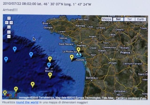 Di Benedetto website screen shot