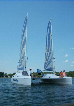Radical Bay catamaran