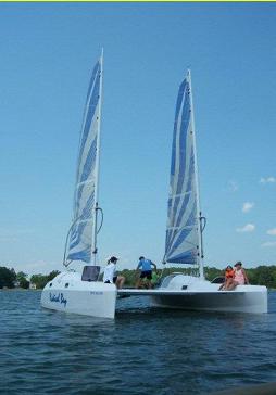 Radical Bay catamaran