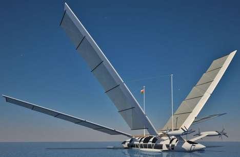 Flying Yacht by Yelken Octuri