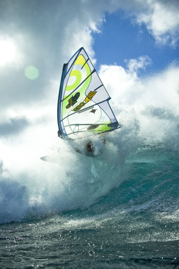 Neil Pryde windsurfer