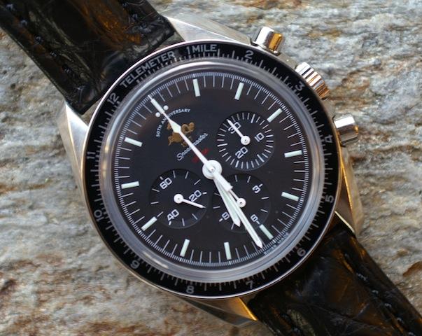 50th Anniversary Omega Speedmaster chronograph