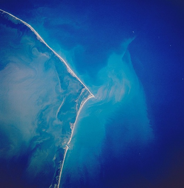 Cape Hatteras satellite image