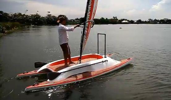 Starboard Serenity Catamaran