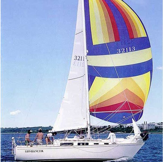 Sabre 28 under sail