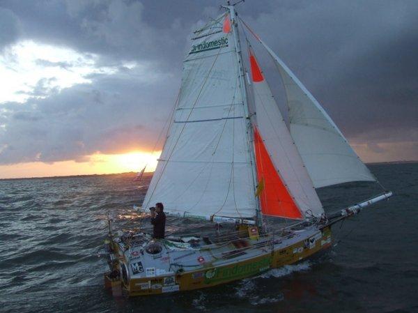 Alessandro di Benedetto completes his voyage