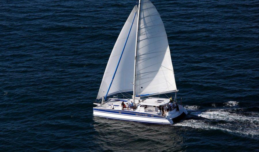 Scape 51 under sail