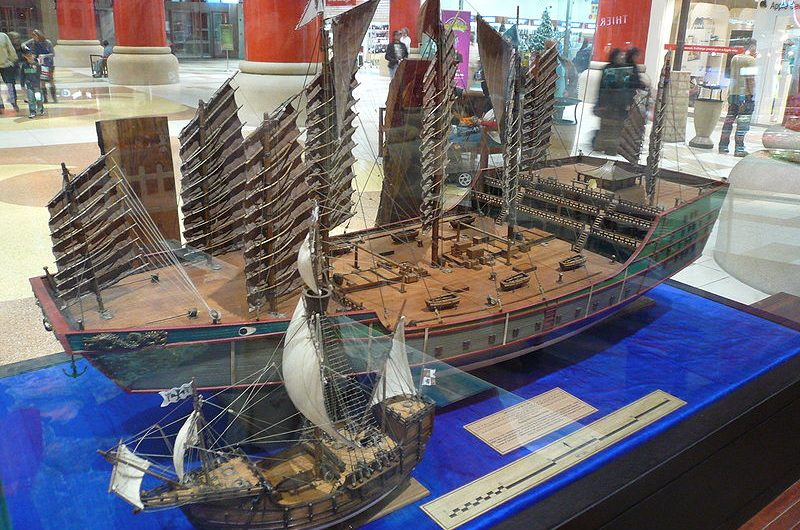 Model of ZhengHe ship
