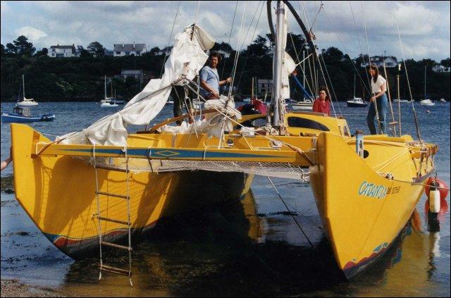 Pahi 42 aground