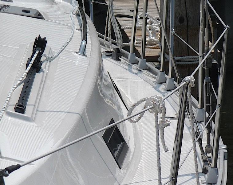 Bavaria Yachts coachroof detail