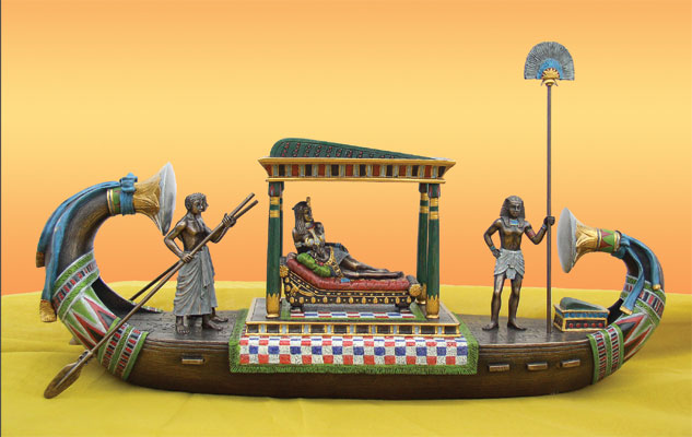Cleopatra's barge