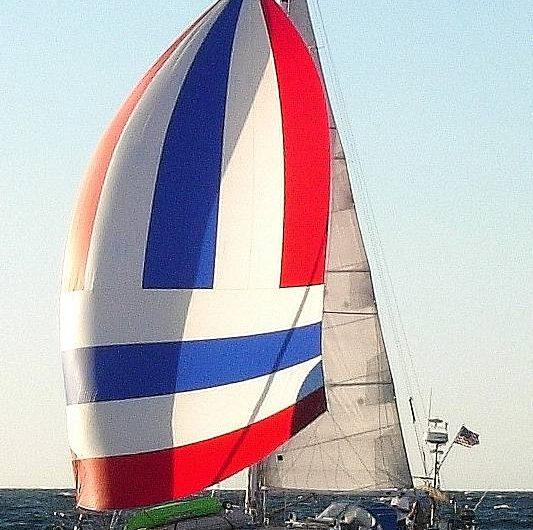 C&C Landfall 38 under sail