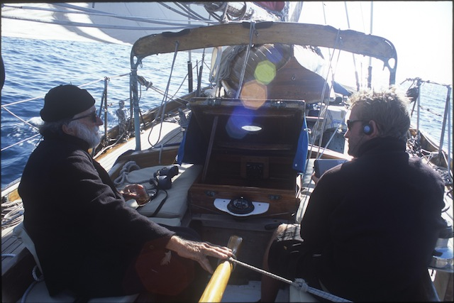 Sailing aboard Iolaire