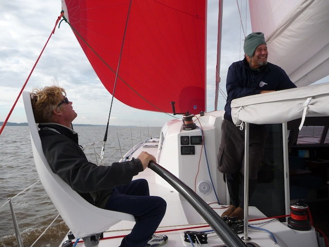 Sailing the Outremer 49