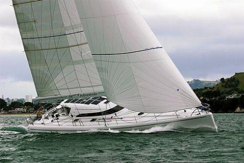 Marten 65 under sail