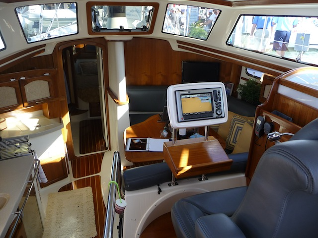 Command chair on Seaward 46