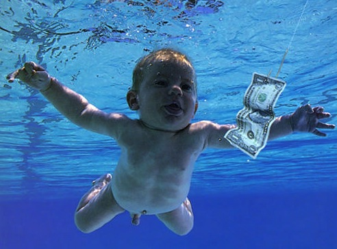 Swimming baby/Nirvana cover