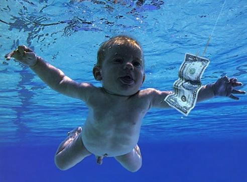 Swimming baby/Nirvana cover