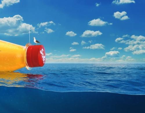 Solo Bottle Adrift
