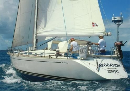 Swan 48 Avocation under sail