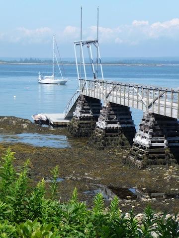 Eagle Island dock