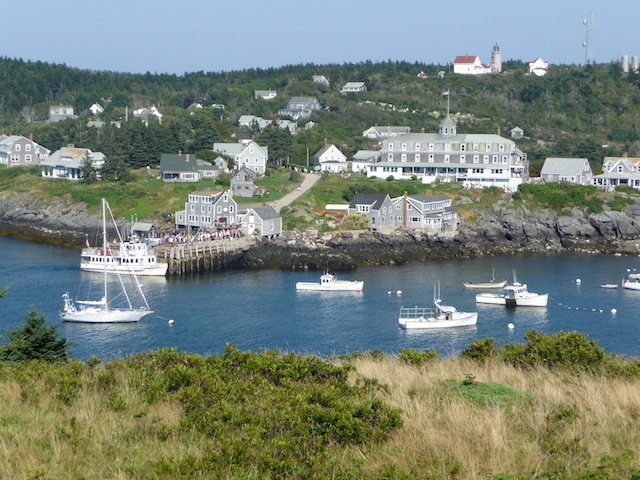 Monhegan Is. harbor