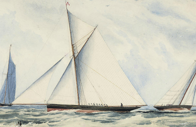 Early yacht race