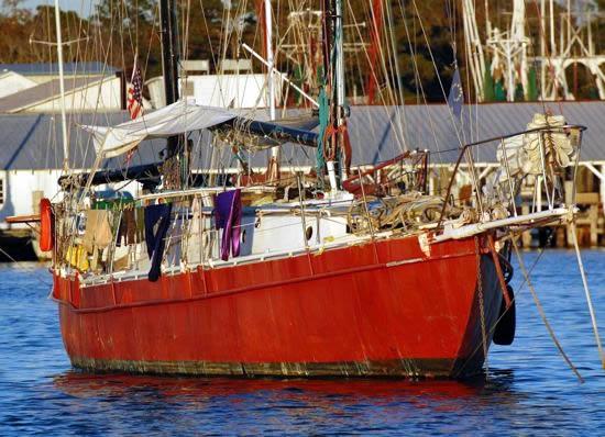 Primadonna at anchor