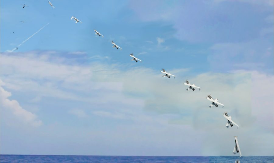 Sub launched drone