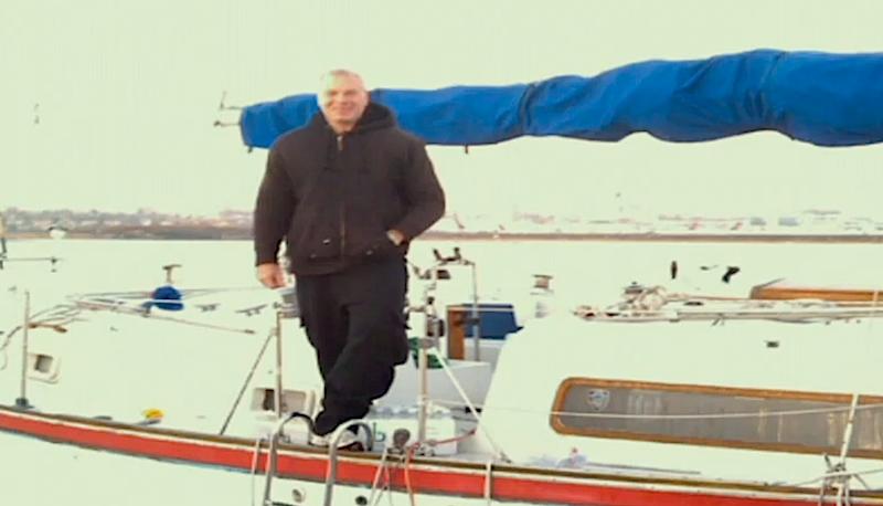Vincent Tangorra aboard Polaris