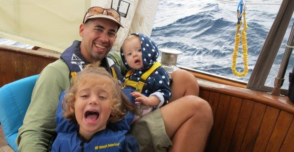 Eric Kaufman with children