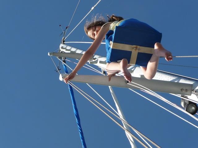 Lucy aloft