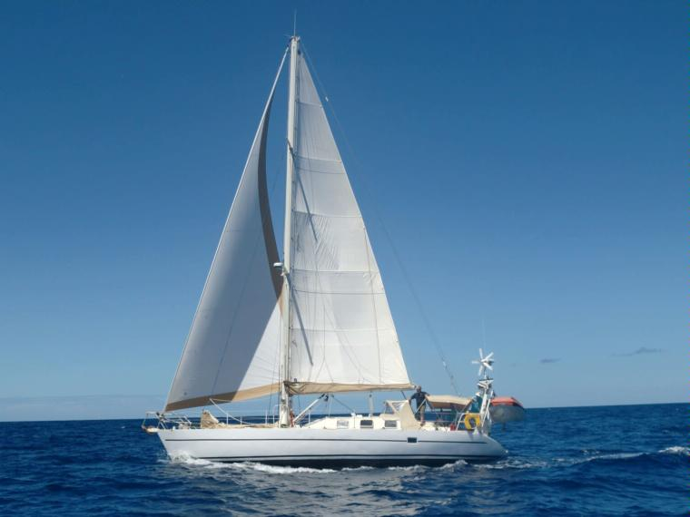 Passoa 47 under sail