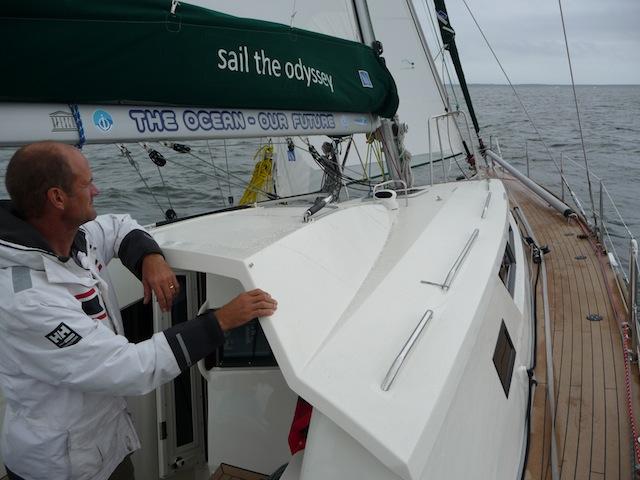 Garcia 45 sailing