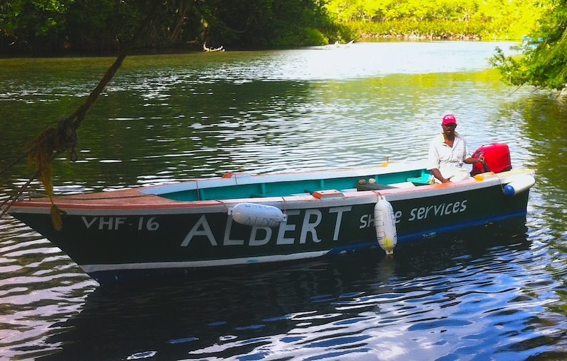 Albert's boat profile